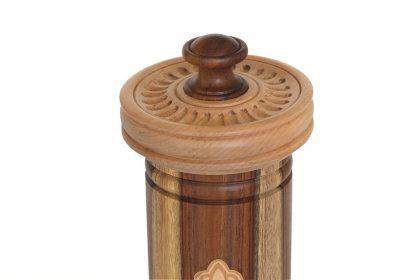 בית מגילה מהודר 540  פקקים (מנוסר בשילוב עצים ולייזר)